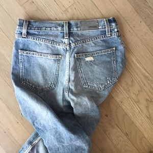 FRONT SIDE RIPPED LF CARMAR JEANS